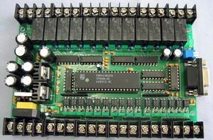 28点继电器输出控制的国产PLC控制板