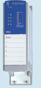 赫思曼快速以太网介质模块MM22-T1T1T1T1SAHC