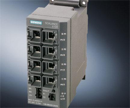 SIEMENS 工业以太网交换机——非网络管理型 SCALANCE X-100