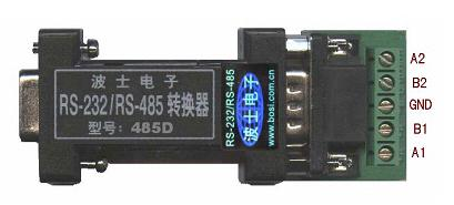 单环自愈RS-232/RS-485集线转换器-485D
