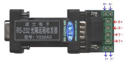 波士RS-232光隔远程收发器系列