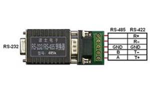 波仕卡RS-232/RS-485/RS-422转换器(全新专利外形,双倍浪涌保护、无须跳线设置)-485K