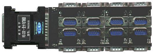 RS-232一变十六通信扩展器-16232B