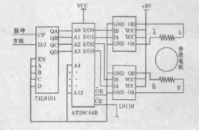 驱动芯片   l9110 是为控制和驱动电机设计的两