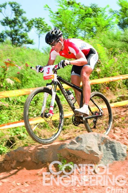 工程塑料轴承用于山地自行车,减轻重量高清图片