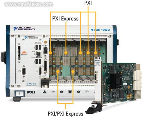 图5PXIExpress机箱