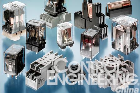 印刷电路板继电器的开关功能可能用一个三极插入式继电器就可以实现.