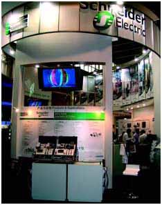 施耐德电气亮相2006 FA/PA