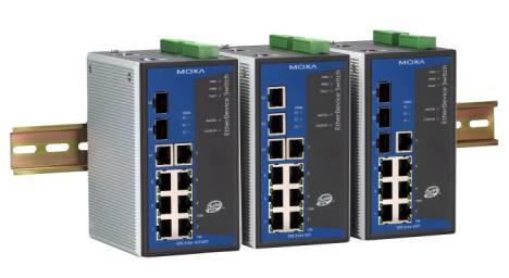 10-port以太网络交换机──EDS-510A系列
