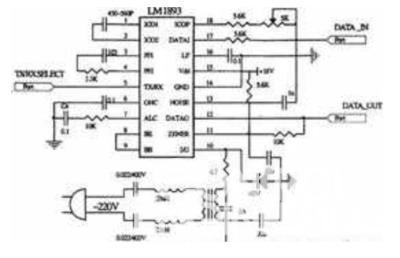 lm1893的典型应用电路
