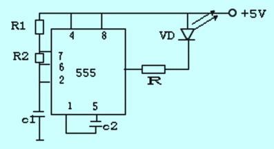 智能红外测速系统的设计如图