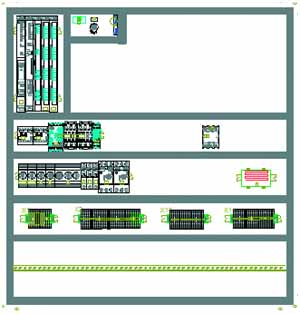 EPLAN21 安装板布置