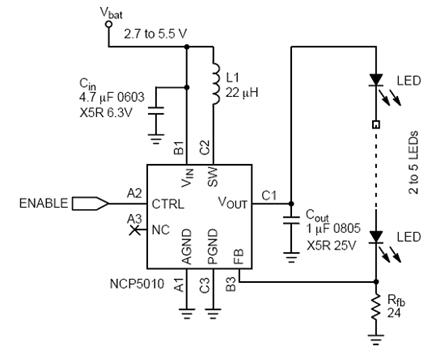 小型lcd背光的led驱动电路设计考虑因素