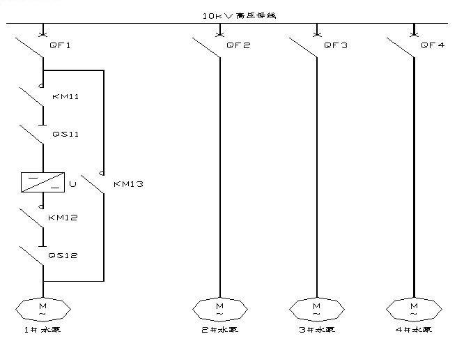 4.输入侧结构   输入侧由移相变压器给每个单元供电,移相变压器的副边绕组分为三组,对10kV系列,构成48脉冲整流方式;这种多级移相叠加的整流方式可以大大改善网侧的电流波形,使其网侧功率因数接近1。   另外CONTROL ENGINEERING China版权所有,由于变压器副边绕组的独立性CONTROL ENGINEERING China版权所有,使每个功率单元的主回路相对独立,类似常规低压变频器。便于采用现有的成熟技术。   5.