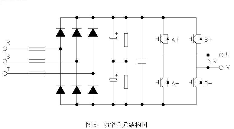 變頻器調速電路圖; 凈水廠水泵機組變頻調速設計