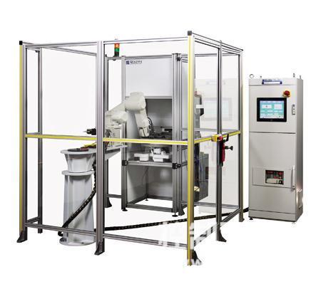 完整的可视机器人工作单元采用了三菱电机RV-6SL-S11机器人