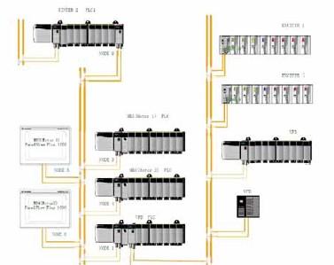 烧结发电10kv主接线图解析图?