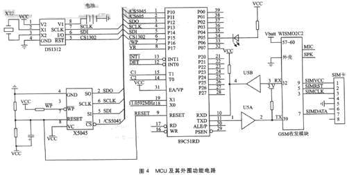 mcu及其外围功能电路