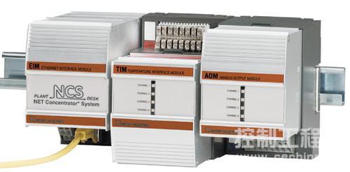 收集多字段设备信息并将数据通过以太网电缆回送的数据收集器。来源:Moore Industries