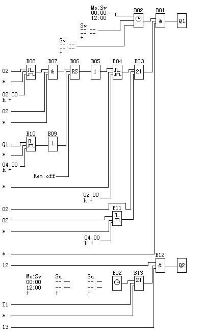 液位仪水泵抽水电路图