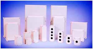 Rockwell Automation公司的Allen-Bradley标准塑料按钮外壳