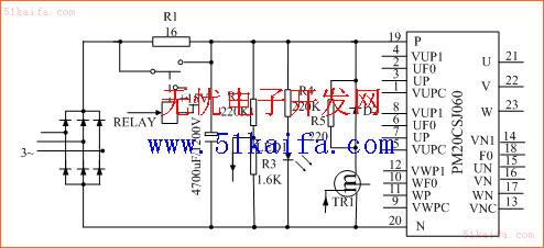 图1 变频器主电路