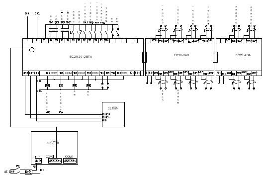 变频器水泵电接点接线图
