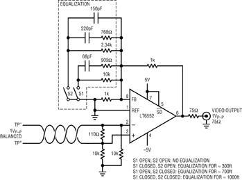 资讯 人机界面 > 正文     图 1中显示的电路能有效地去除在汽车和