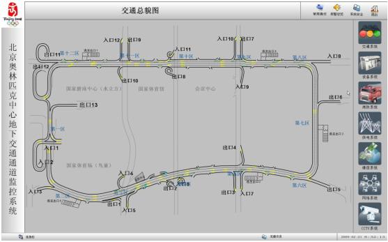 环形供电网络接线图