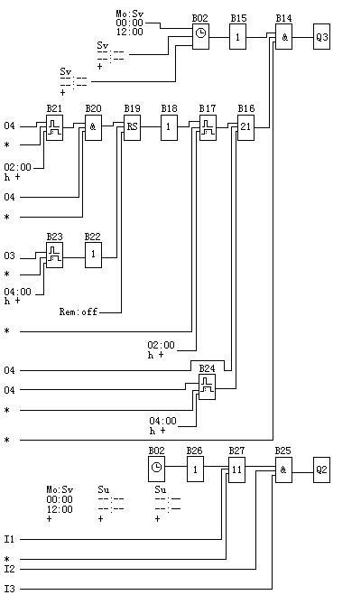 i12 冷却水压力继电器  q1 菜库风机电机接触器