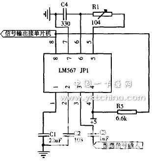 图4锁相环电路