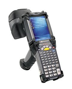 Motorola MC-9090 handheld computers are used at the Huntsman Port Neches