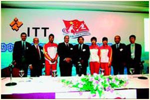 中国皮划艇协会和ITT公司召开新闻发布会