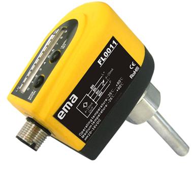 伊玛推出FL系列流动传感器模拟量输出