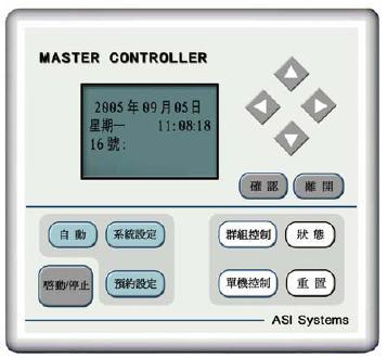 亚司艾联网型风机盘管主控制器MC1200