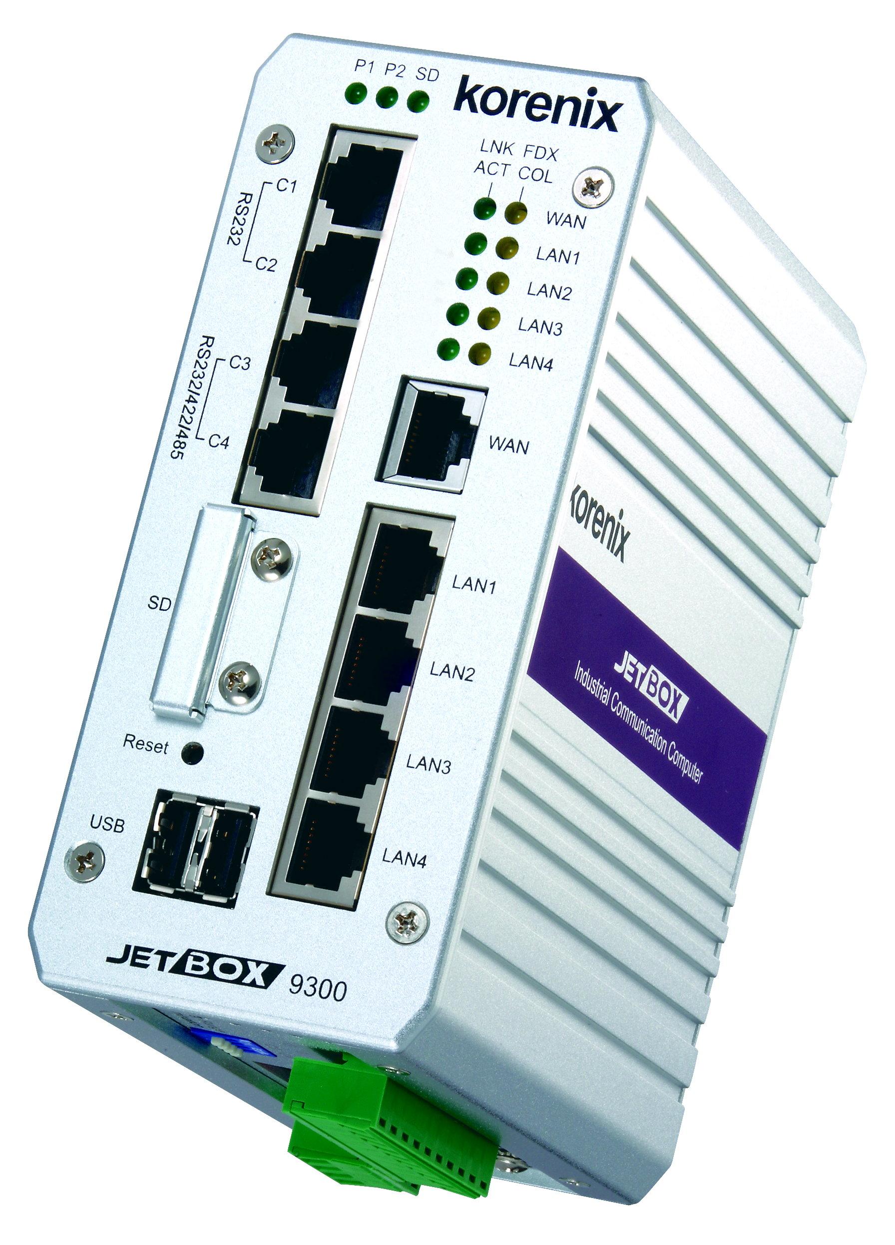 JetBox9300/9310 工业PoE路由网管计算机