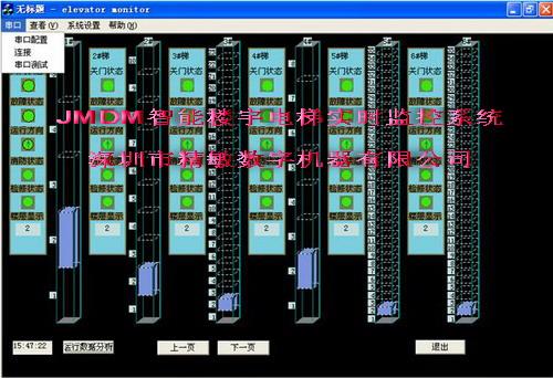 JMDM多功能智能楼宇电梯实时集中监控系统