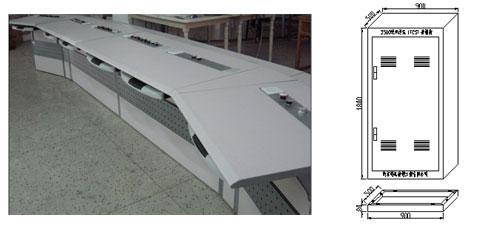 控制机柜,现场总线机柜尺寸如图所示