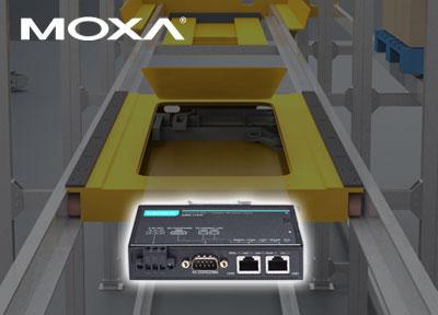 让您的设备轻松接入Wi-Fi网络——Moxa无线自动仓储解决方案